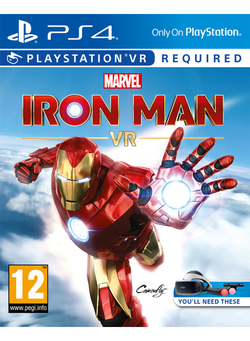 Marvel's Iron Man VR (только для VR) (PS4)
