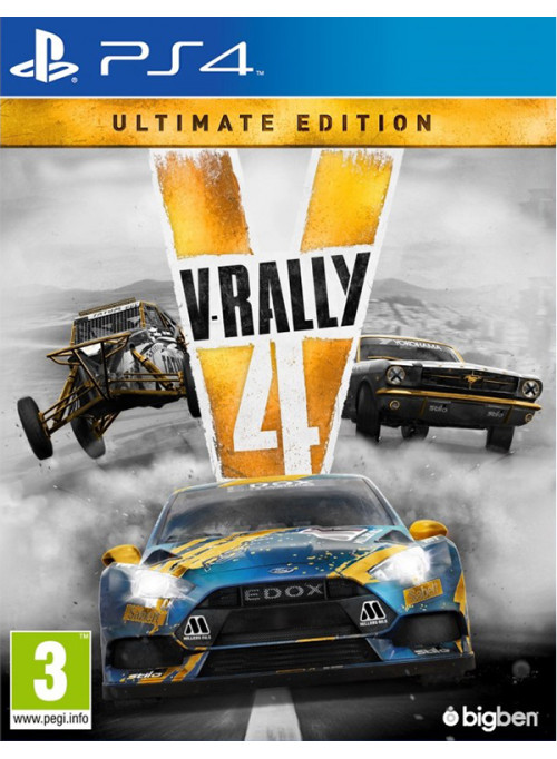 V-Rally 4 Ultimate Edition (PS4)