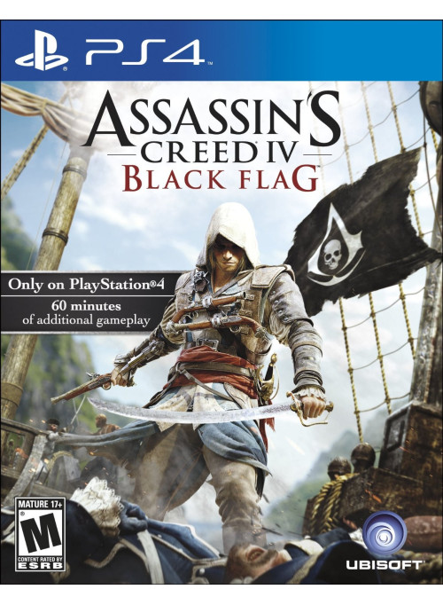 Assassin's Creed 4 (IV): Черный флаг (Black Flag) (PS4)