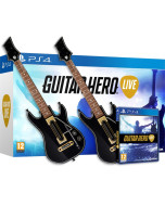 Guitar Hero: Live Bundle (2 гитары + игра) (PS4)