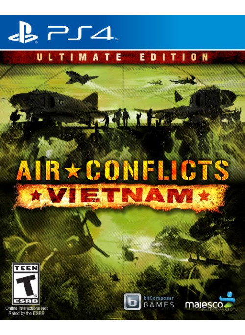 Air Conflicts: Vietnam (Вьетнам) Ultimate Edition (PS4)