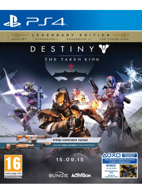 Destiny: The Taken King. Legendary Edition: игра для Sony PlayStation 4
