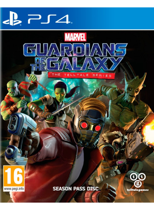 Guardians of the Galaxy (Стражи галактики): The Telltale Series (PS4)