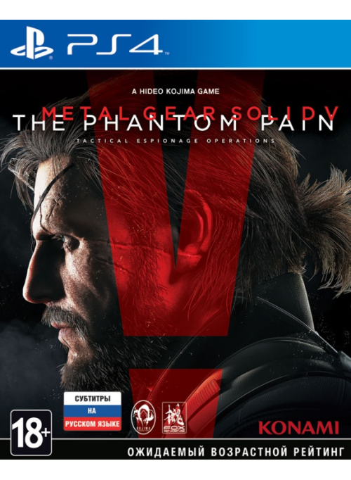 Metal Gear Solid 5 (V): The Phantom Pain Day One Edition (PS4)