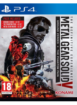 Metal Gear Solid 5 (V): Definitive Experience (PS4)