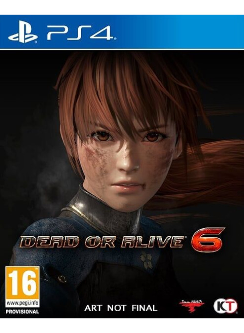 Dead or Alive 6 (VI) (PS4)