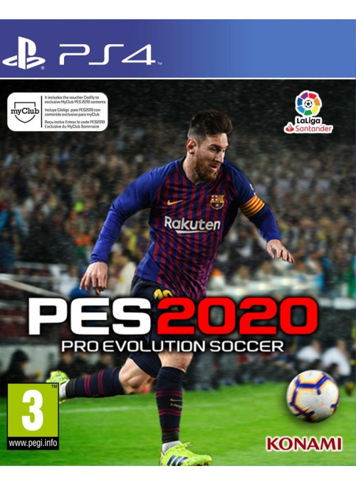 Pro Evolution Soccer 2020 (PES 2020) (PS4)