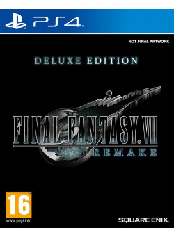 Final Fantasy 7 (VII): Remake Deluxe Edition (PS4)