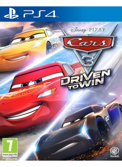Тачки 3: Навстречу победе (Cars 3: Driven to Win) (PS4)