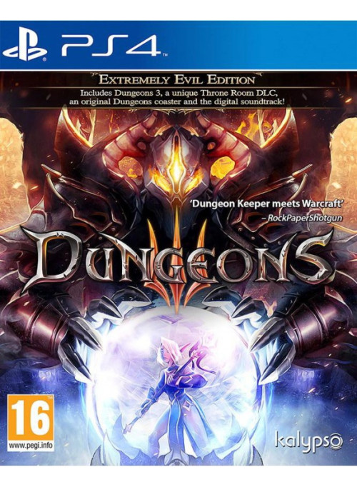 Dungeons 3 (III) - Extremely Evil Edition (PS4)