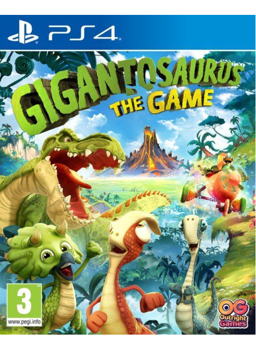 Gigantosaurus The Game (PS4)