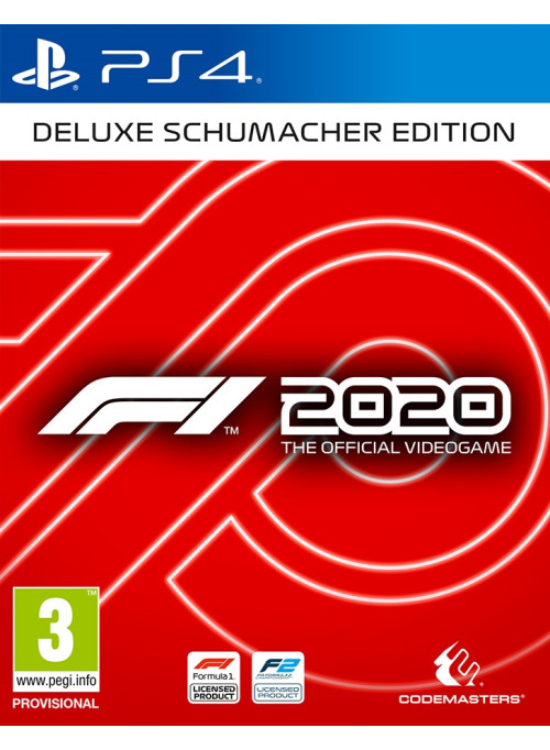 F1 2020 Deluxe Edition издание «Шумахер» (PS4)