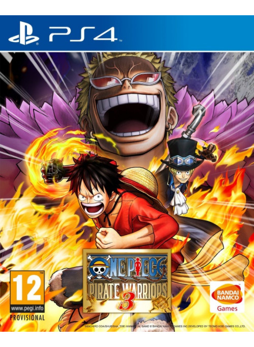 One Piece Pirate Warriors 3 (PS4)