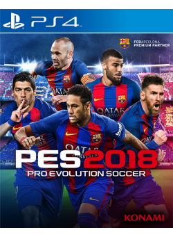 Pro Evolution Soccer 2018 (PES 2018) (PS4)