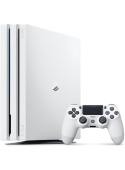 Игровая приставка Sony PlayStation 4 Pro 1Tb White (White Box) (CUH-7016B)