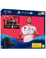 Игровая приставка Sony PlayStation 4 Pro 1Tb Black (CUH-7208B) + FIFA 20