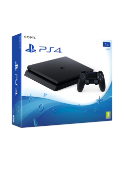 Игровая приставка Sony PlayStation 4 Slim 1TB Black (CUH-2016B)