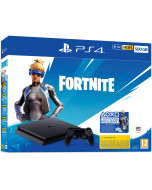 Игровая приставка Sony PlayStation 4 Slim 500Gb Black (CUH-2216A) + Игра Fortnite
