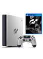 Игровая приставка Sony PlayStation 4 Slim 1TB Limited Edition (Silver Black) (CUH-2008B) + Gran Turismo: Sport