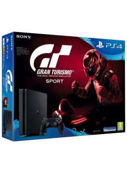 Игровая приставка Sony PlayStation 4 Slim 1TB Black (CUH-2116B) + Gran Turismo: Sport