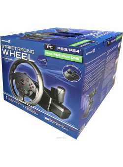 Игровой Руль Artplays Street Racing Wheel Turbo C900 (РС/PS4/PS3/XboxOne/XBox360)