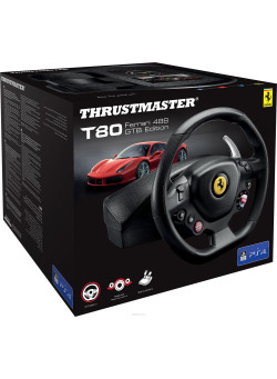 Руль Thrustmaster T80 Ferrari 488 GTB Edition (PS4/PC)