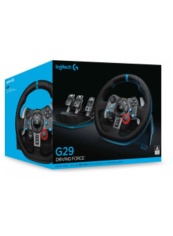 Руль с педалями Logitech G29 Driving Force (PS4/PS3/PC)