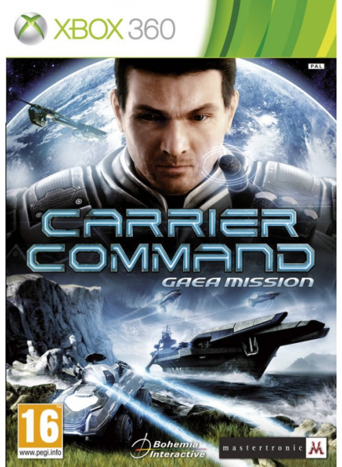 Carrier Command Gaea Mission: игра для XBox 360