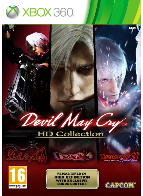 Devil May Cry HD Collection: игра для XBox 360
