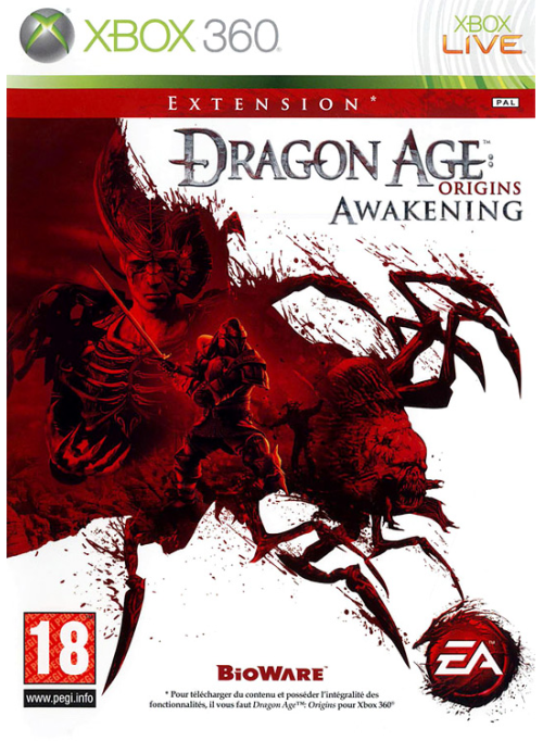 Dragon Age: Origins - Awakening: игра для XBox 360