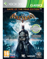 Batman: Arkham Asylum Game of the Year Edition (Издание Игра Года) (Xbox 360)
