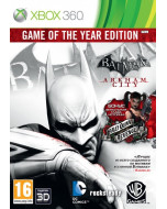 Batman: Аркхем Сити (Arkham City) Издание Игра Года (Game of the Year Edition) (Xbox 360)