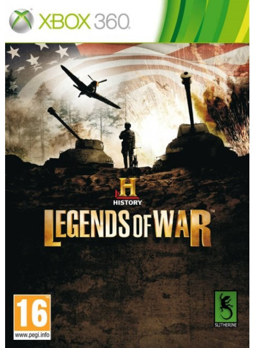 History Legends of War: Patton (Xbox 360)