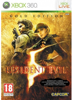 Resident Evil 5 Gold Edition (Xbox 360)
