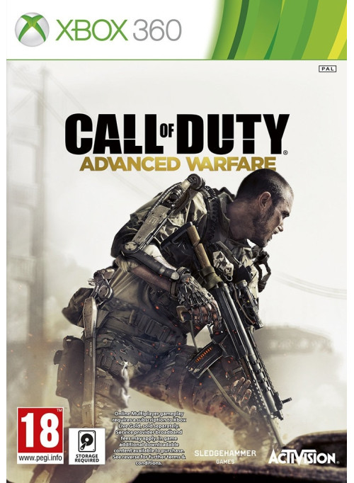Call of Duty: Advanced Warfare Английская Версия: игра для XBox 360