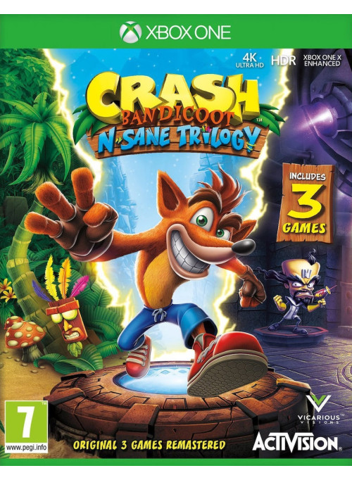 Crash Bandicoot N'sane Trilogy (Xbox One)