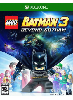 LEGO Batman 3: Beyond Gotham (Лего Бэтман 3: Покидая Готэм) (Xbox One)