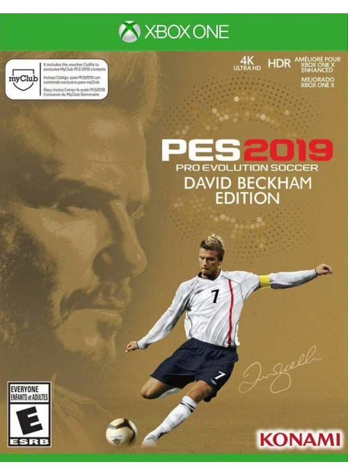 Pro Evolution Soccer 2019 (PES 2019) David Beckham Edition (Xbox One)