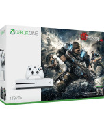 Игровая приставка Microsoft Xbox One S 1 Tb  White + Gears of War 4