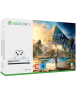 Игровая приставка Microsoft Xbox One S 1 Tb White + Assassin's Creed: Истоки