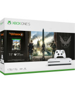 Игровая приставка Microsoft Xbox One S 1 Tb White + Игра Tom Clancy's The Division 2