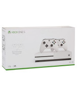 Игровая приставка Microsoft Xbox One S 1 Tb White + Геймпад Xbox One S Wireless Controller White