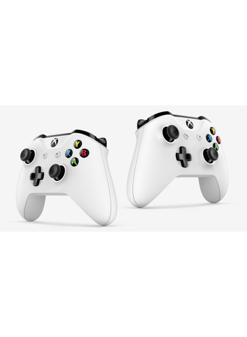 Геймпад Microsoft Xbox One S Wireless Controller White (Xbox One)