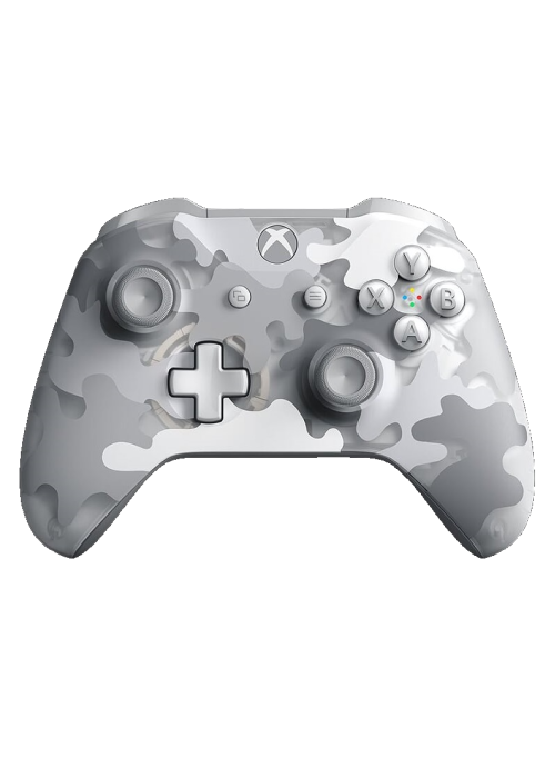 Геймпад беспроводной Microsoft Xbox One S Wireless Controller Arctic Camo (WL3-00175) (Xbox One)