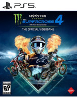 Monster Energy Supercross - The Official Videogame 4 (PS5)