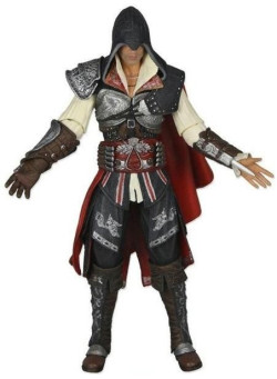 Фигурка NECA: Мастер Эцио (Ezio Master) Кредо убийцы 2 (Assassin's Creed 2) (17 см)