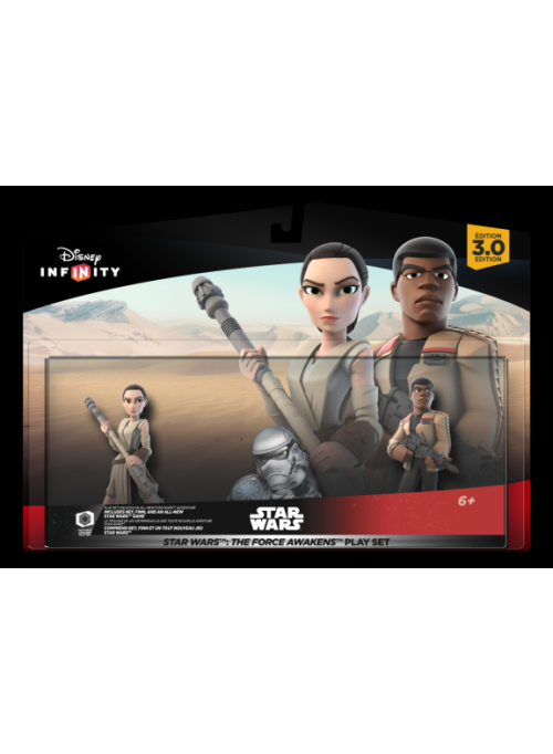 "Disney. Infinity 3.0 (Star Wars) Набор ""2+1"". ""The Force Awakens"""