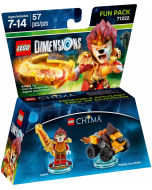 LEGO Dimensions Fun Pack (71222) - Chima (Laval, Mighty Lion Rider)