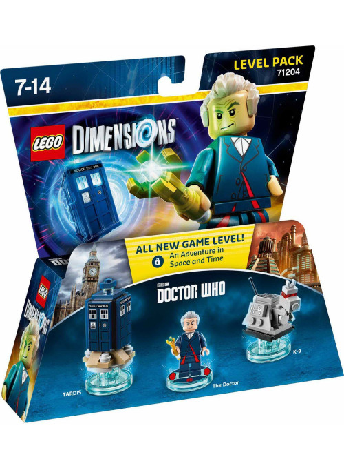 LEGO Dimensions Level Pack (71204) - Doctor Who (The Doctor, Tardis, K-9 )