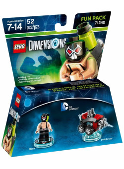 LEGO Dimensions Fun Pack (71240) - DC Comics (Bane, Drill Driver)